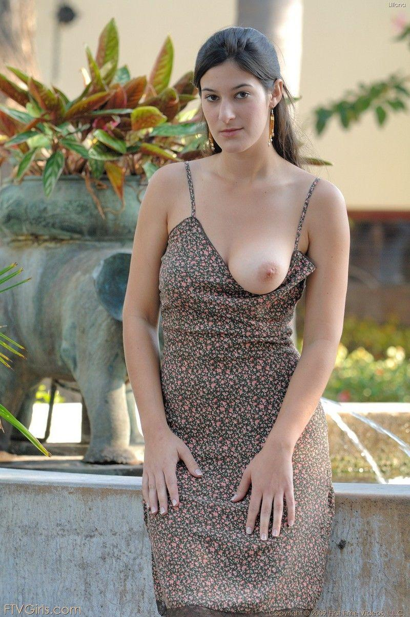 Sexy girl nuked in public - 10