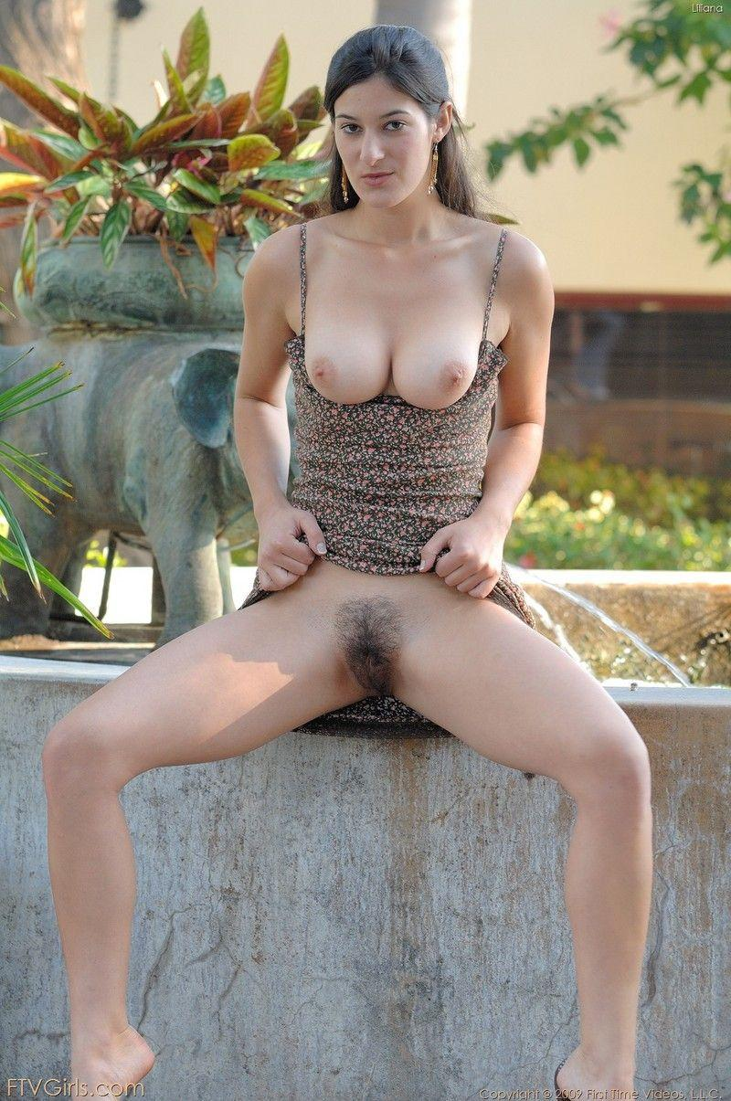 Sexy girl nuked in public - 11