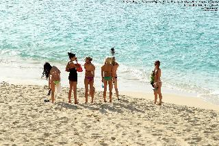 Sexy girls on the beach