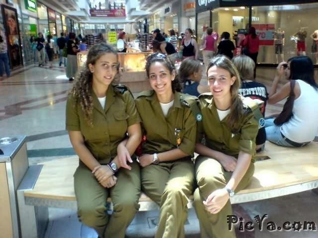 Beautiful female soldiers from Israel - 13
