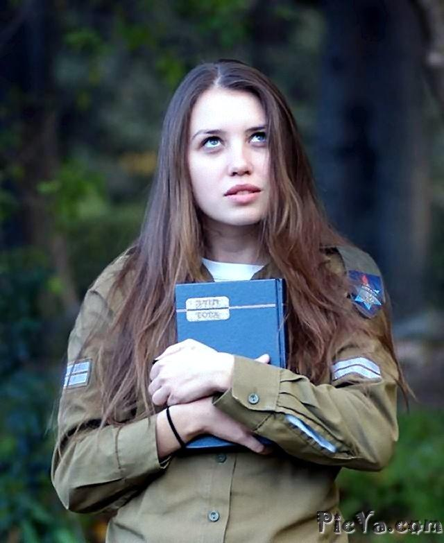 Beautiful female soldiers from Israel - 18