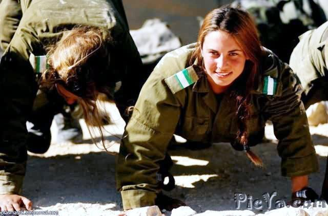 Beautiful female soldiers from Israel - 2