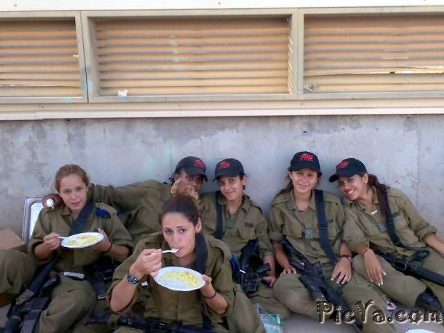 Beautiful female soldiers from Israel - 20