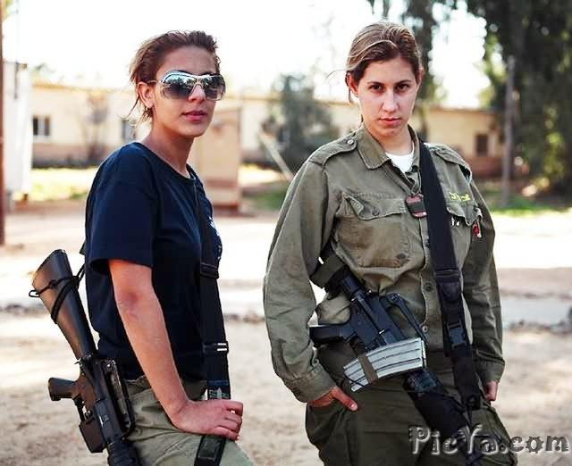 Beautiful female soldiers from Israel - 21