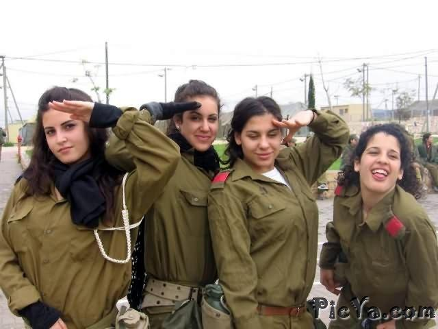 Beautiful female soldiers from Israel - 22