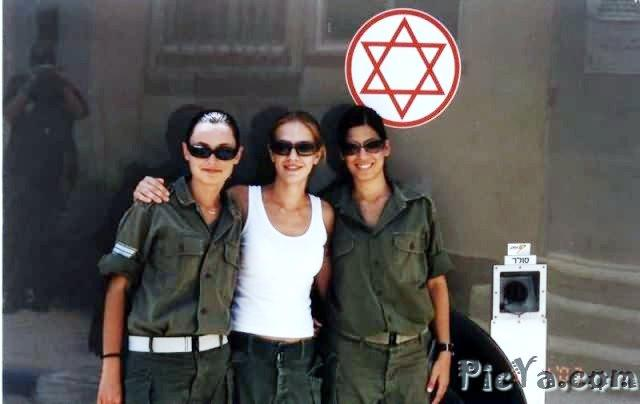 Beautiful female soldiers from Israel - 23