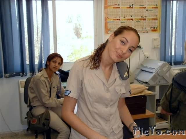 Beautiful female soldiers from Israel - 26