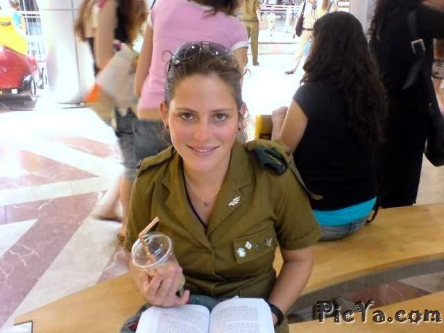 Beautiful female soldiers from Israel - 29