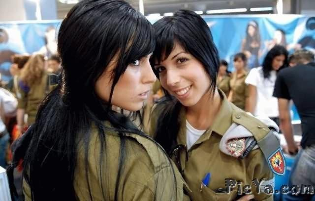Beautiful female soldiers from Israel - 31