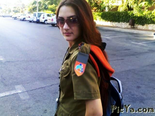Beautiful female soldiers from Israel - 34