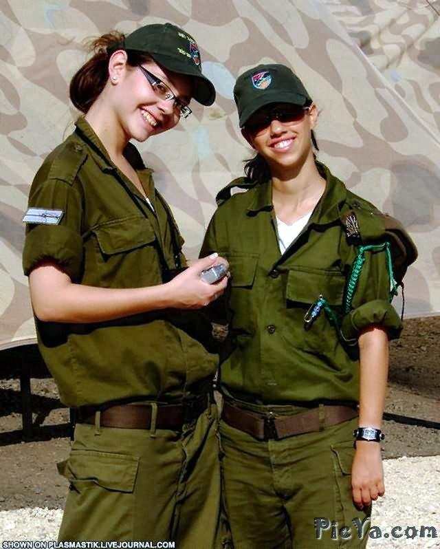 Beautiful female soldiers from Israel - 36