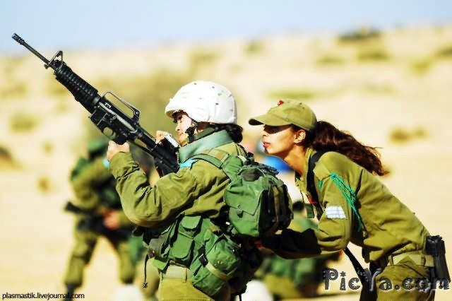 Beautiful female soldiers from Israel - 5
