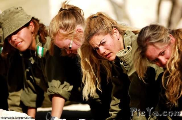 Beautiful female soldiers from Israel - 6
