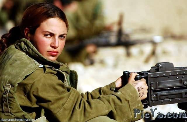 Beautiful female soldiers from Israel - 7