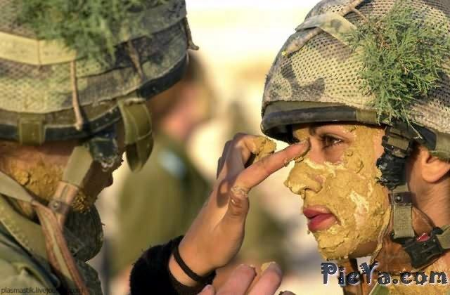 Beautiful female soldiers from Israel - 8